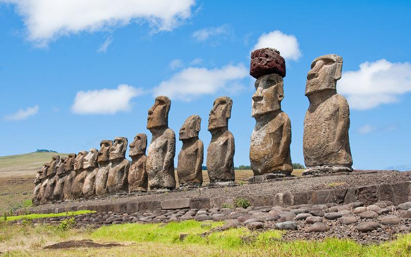 Ahu Tahai ruins, Easter Island Crystal Cruises
