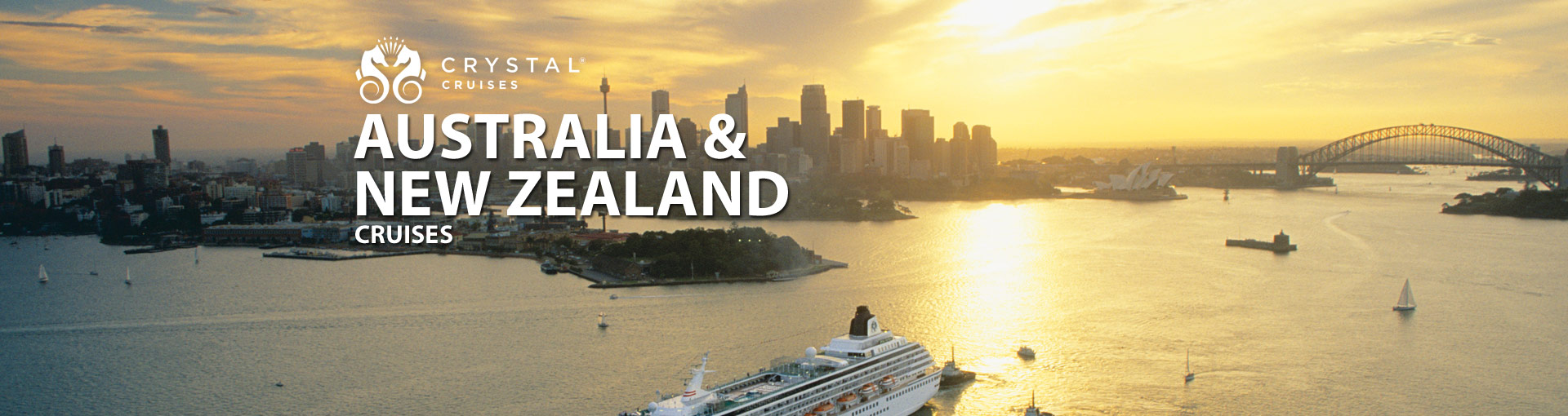 Crystal Cruises Australia New Zealand Cruises