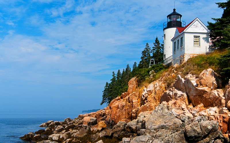 Bass Harbor lighthouse Maine Crystal Cruise Canada