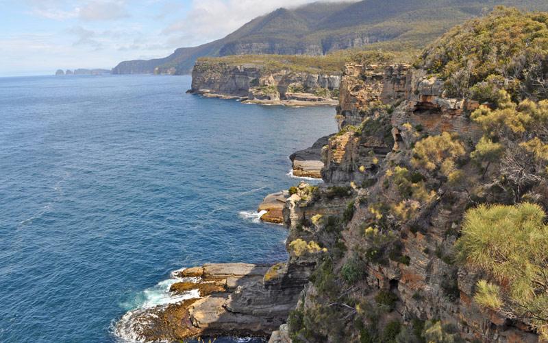 Tasmania Australia Coastline Crystal Cruises