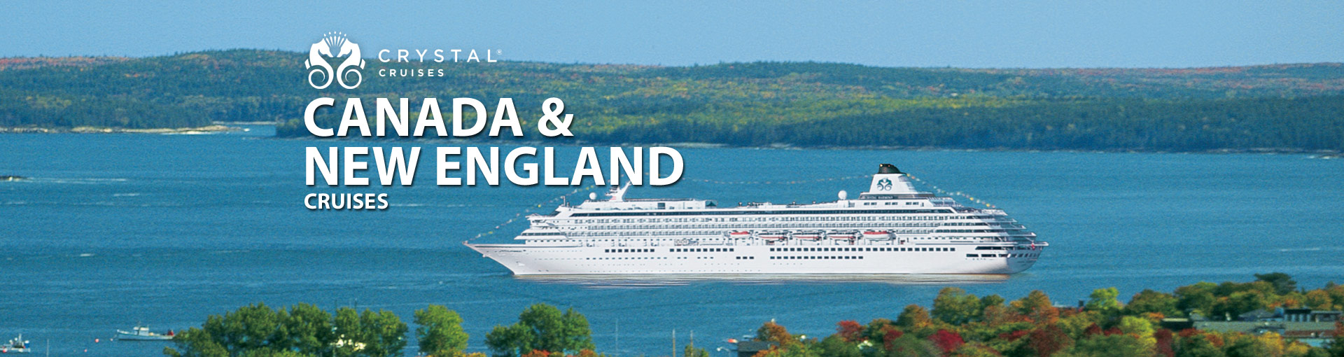 Crystal Cruises Canada New England Cruises