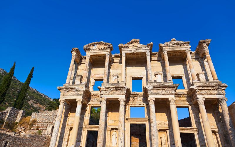 Celsus Library in Ephesus, Turkey Crystal Cruises
