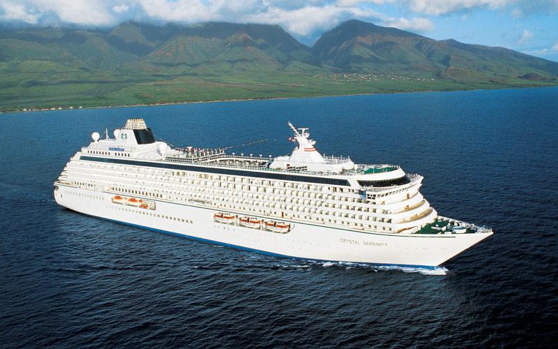 Crystal Cruises Crystal Serenity exterior