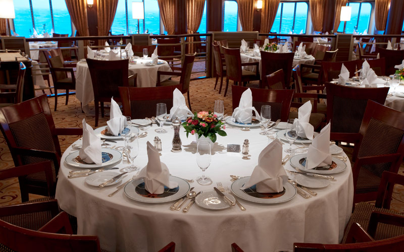 Crystal Cruises Crystal Symphony Dining Room