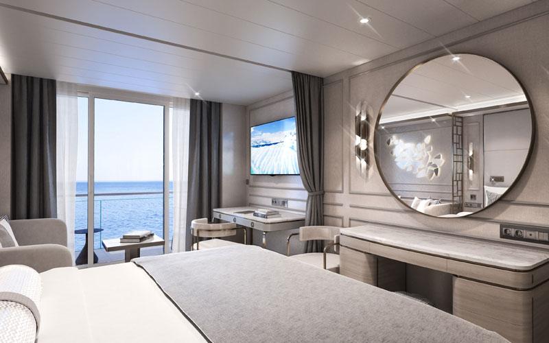 Deluxe Suite aboard Crystal Endeavor (2)