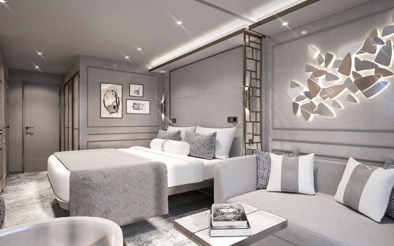 Deluxe Suite aboard Crystal Endeavor (3)