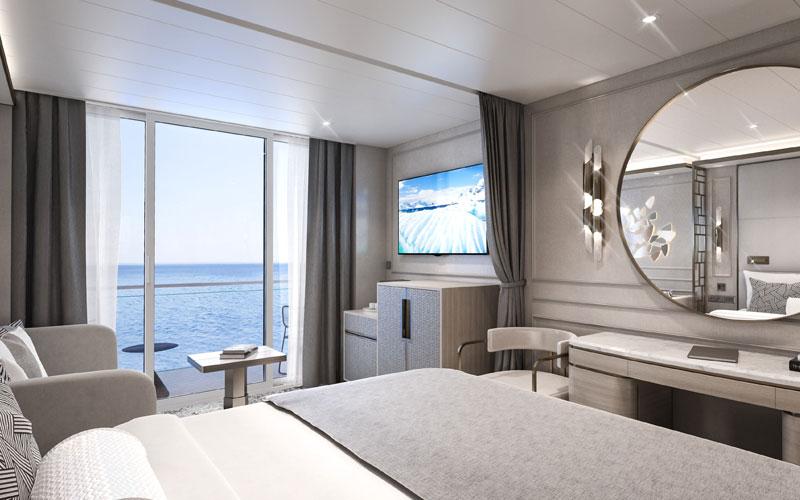 Deluxe Suite aboard Crystal Endeavor (4)