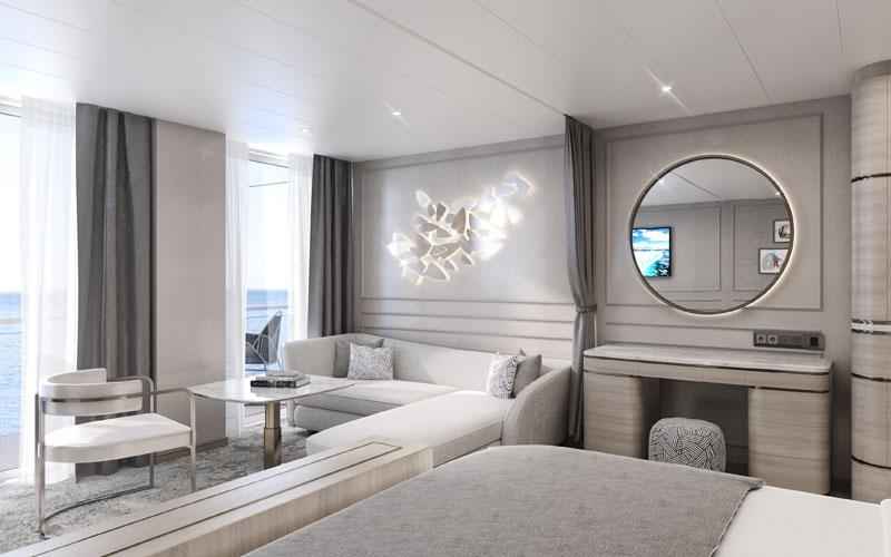 Penthouse Suite aboard Crystal Endeavor (2)