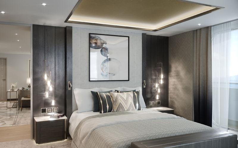 Penthouse Suite aboard Crystal Endeavor