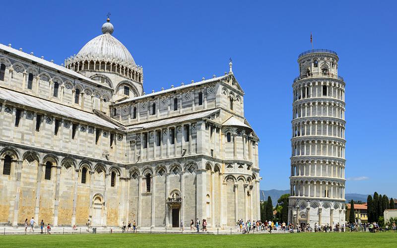 Leaning Tower of Pisa Mediterranean Crystal Cruise