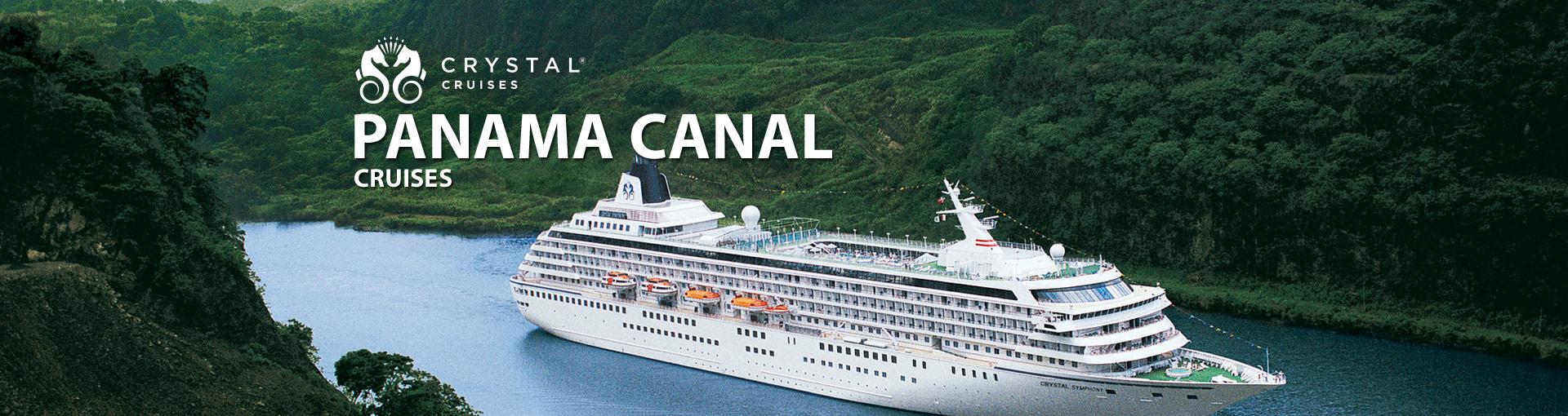 Crystal Cruises Panama Canal Cruises
