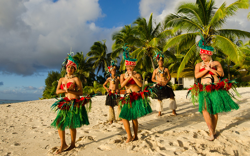 Polynesian dance Cook Islands Crystal Cruises