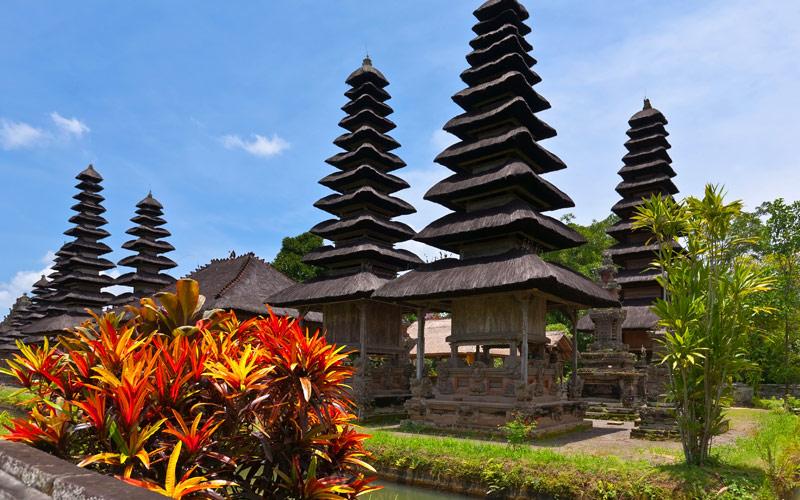 Royal temple of Pura Taman Ayun Crystal Cruises