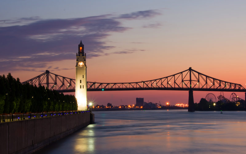 St. Lawrence River Montreal Canada Crystal Cruises