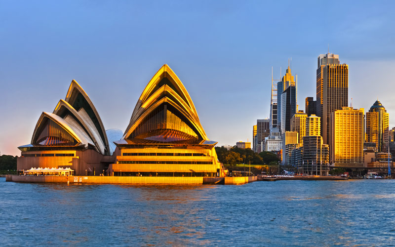 Sydney Opera House Australia Crystal Cruises
