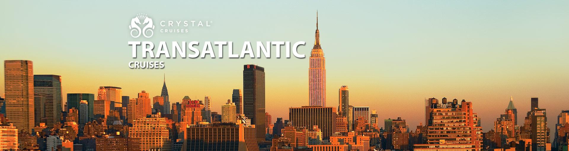 Crystal Cruises Transatlantic Cruises