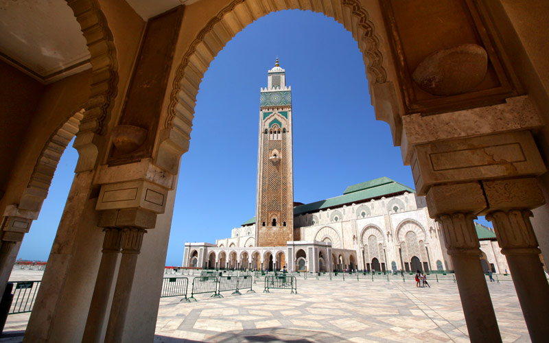 Hassan II Mosque Casablanca Morocco Crystal Cruise