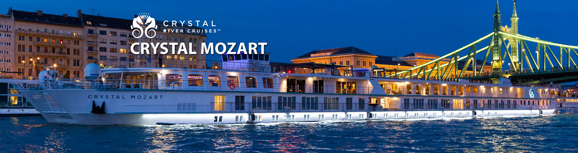 Crystal Mozart River Cruise Ship