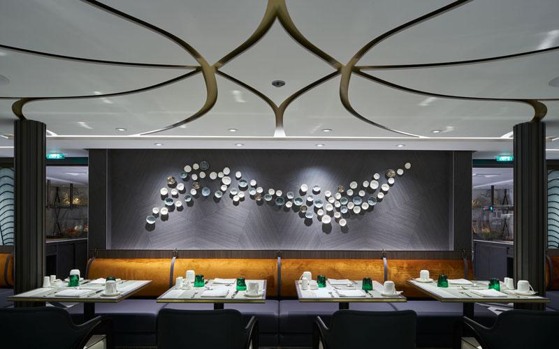 Crystal Bach Waterside Restaurant dinner