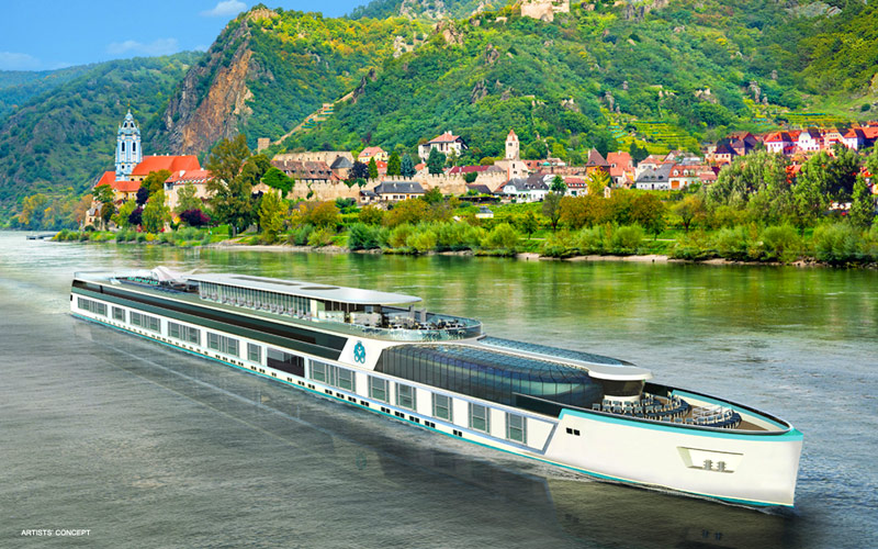Crystal Bach Luxury River Ship 2018 And 2019 Crystal Bach