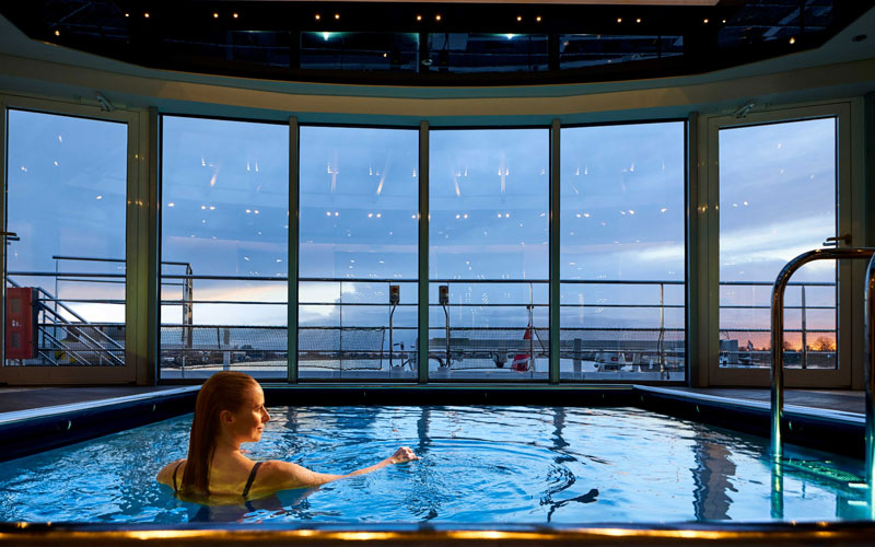 Crystal Debussy indoor pool
