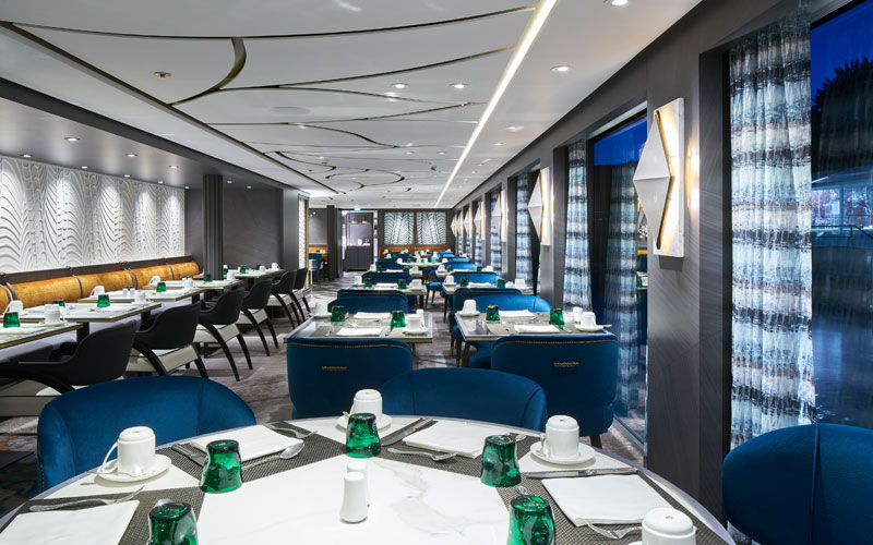 Waterside Restaurant on Crystal Mahler