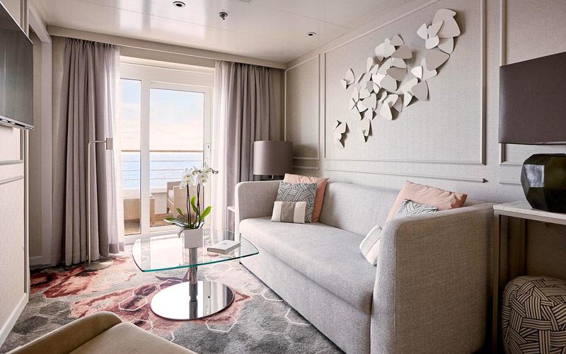 Penthouse Suite aboard Crystal Symphony