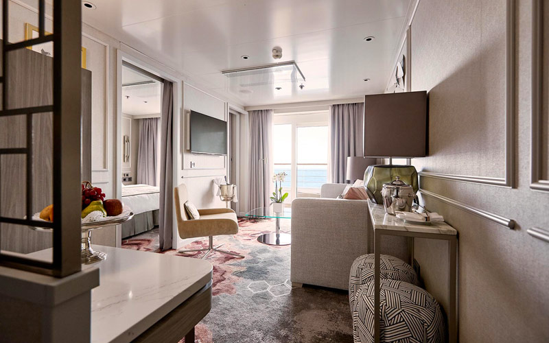 Penthouse Suite on Crystal Symphony