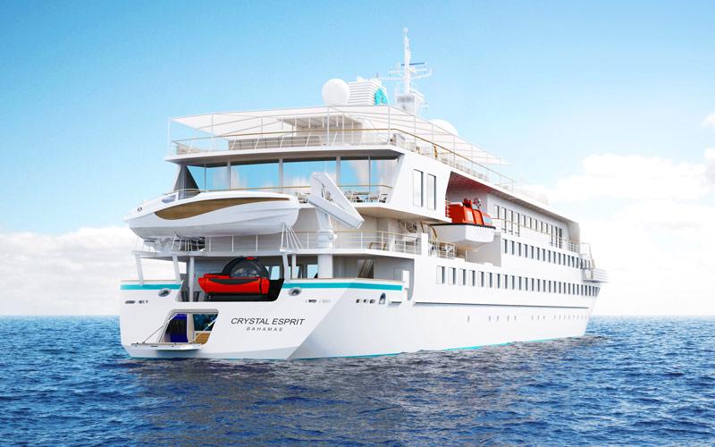 On en parle ,News, Faits divers, Breves, Interludes.... de la mer et de la croisiere - Page 12 Crystal-yacht-cruises-crystal-esprit-exterior-gallery