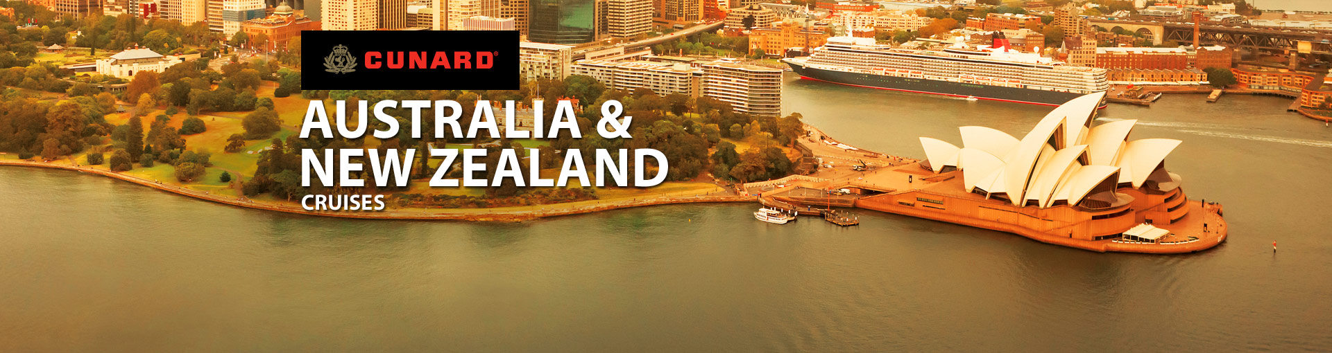 Cunard Line Australia and New Zealand Cruises