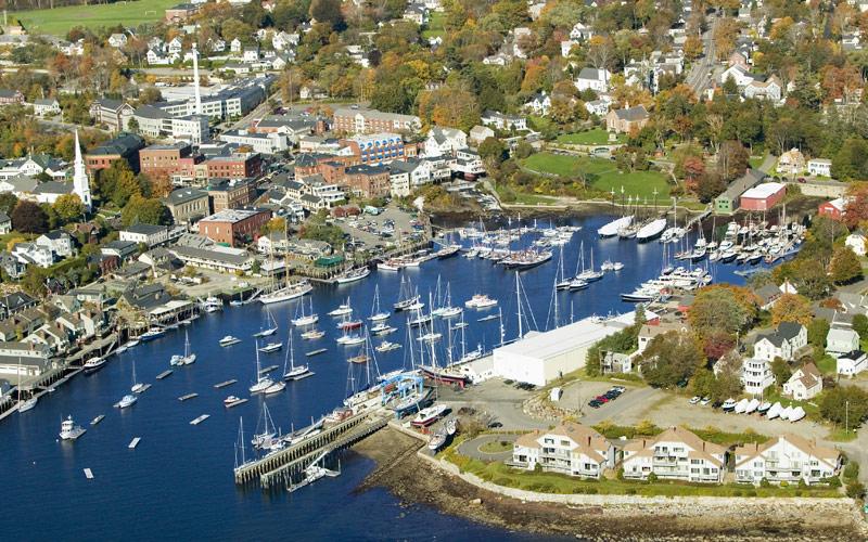 Bar Harbor, Maine Canada New England Cunard Line