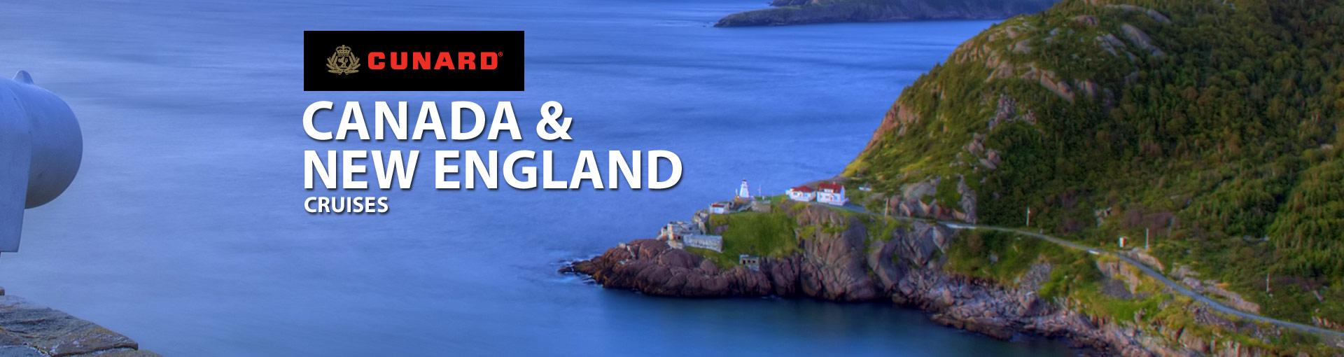 Cunard Line Canada New England Cruises