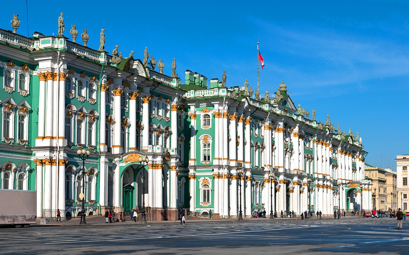 Hermitage St. Petersburg, Russia Cunard Line