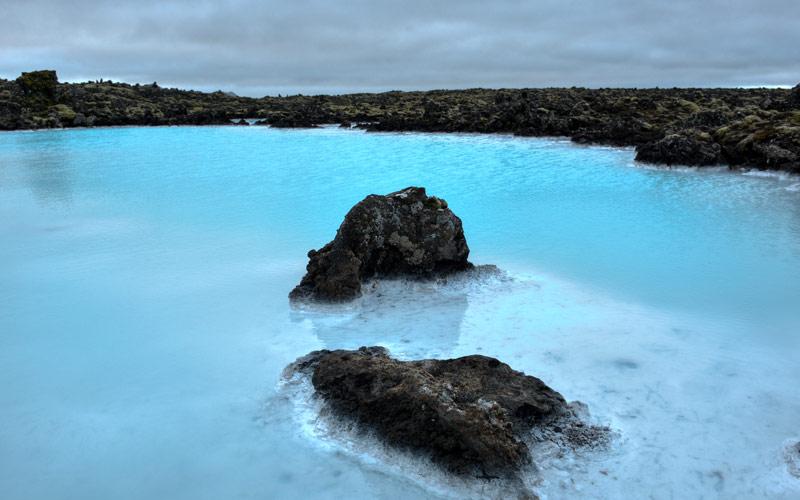 Famous Blue Lagoon, Iceland Cunard Line Europe