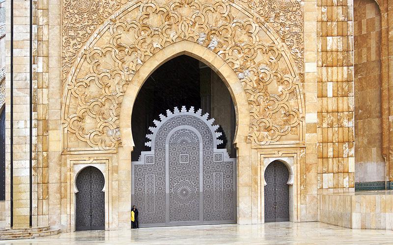 Hassan II Mosque Casablanca Morocco Cunard Line