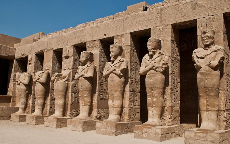 Karnak Temple Complex in Luxor, Egypt Cunard Line