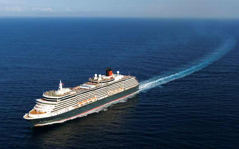 Cunard Line Queen Victoria exterior