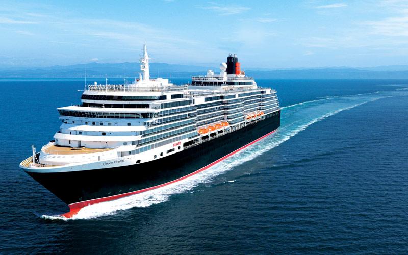 Cunard Line Queen Victoria exterior 02