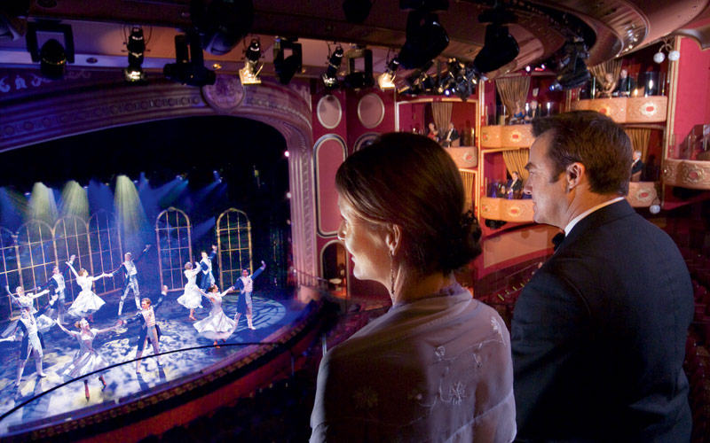 Cunard Line Queen Victoria Theater