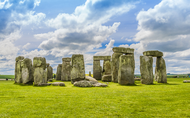 Stonehenge near Sailsbury, Wilshire Cunard Line