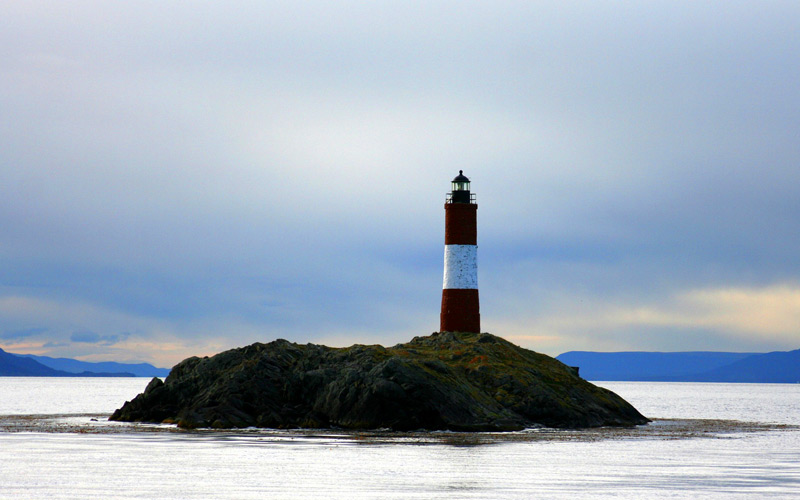 Lighthouse in Ushuaia - Cunard Line