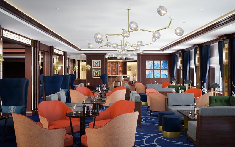 Chart Room Aboard Queen Victoria