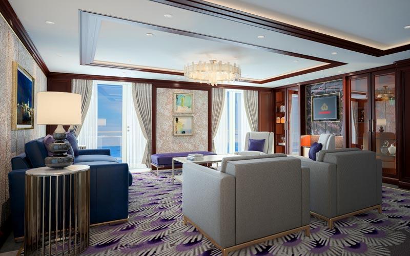 Grand Suite Aboard Queen Victoria