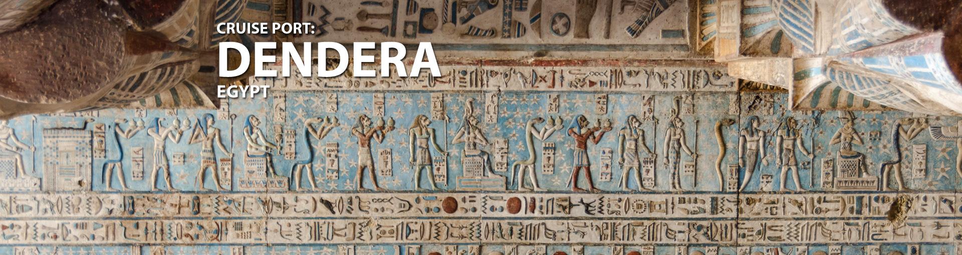 Cruises to Dendera, Egypt