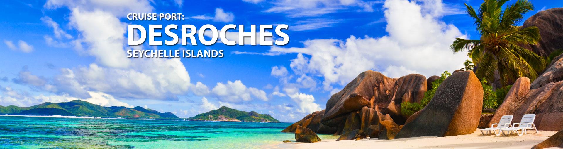 Cruises to Desroches, Seychelle Islands