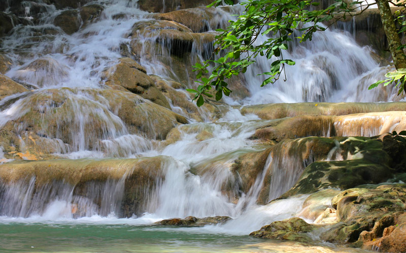 Dunns River Falls Ocho Rios Jamaica Caribbean