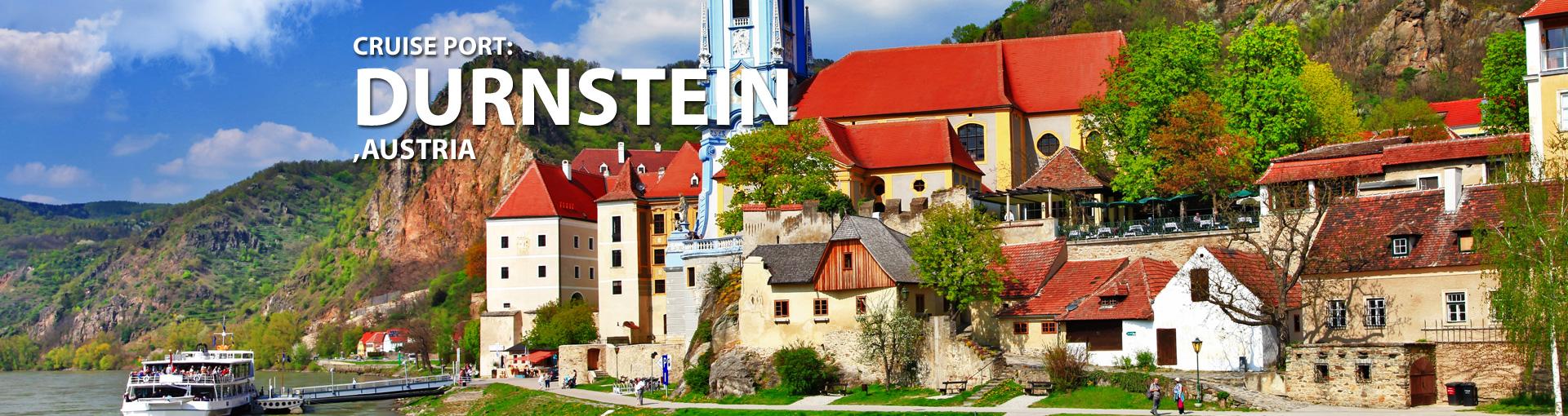Cruises to Durnstein, Austria