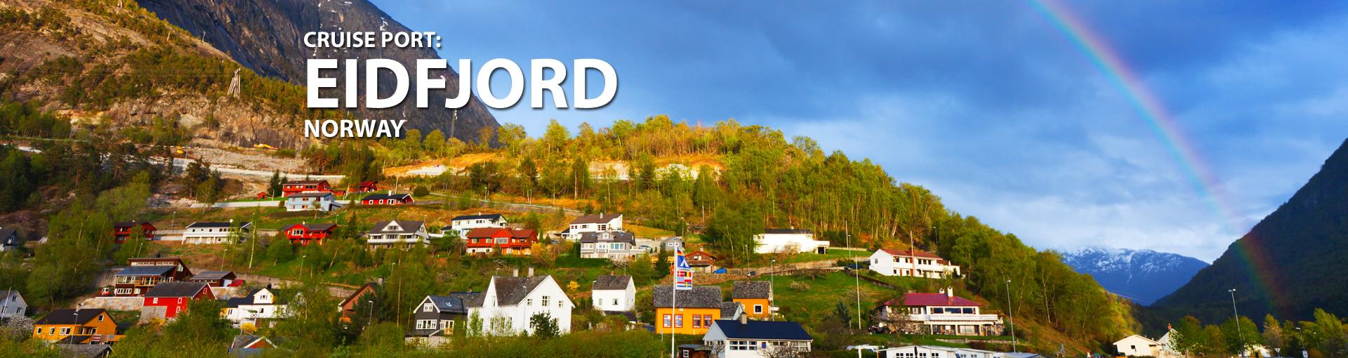 Cruises to Eidfjord, Norway
