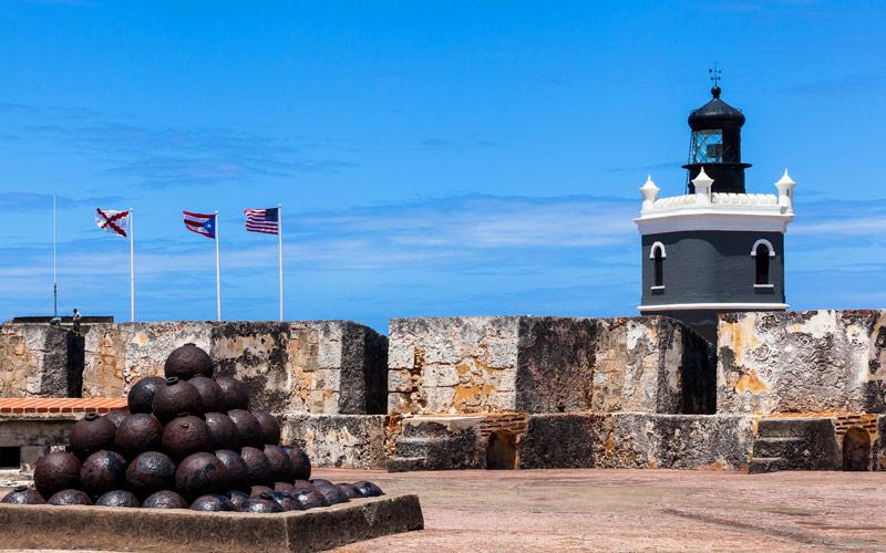 El Morro Fort San Juan Puerto Rico Caribbean