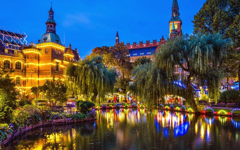 Europe Cruisetours, Copenhagen, Denmark gardens